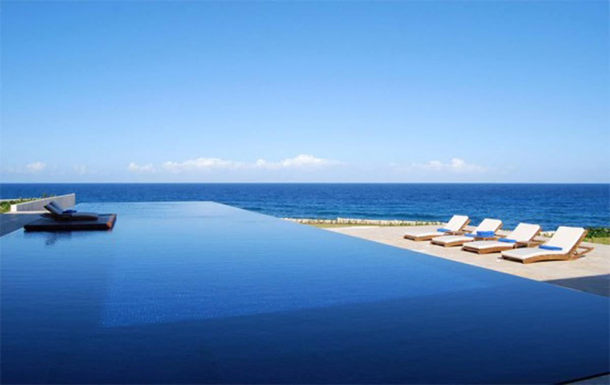 Infinity pool beach house Beach Caribbean Our Facilities Landmark Africa The Landmark Hotel Landmark Africa